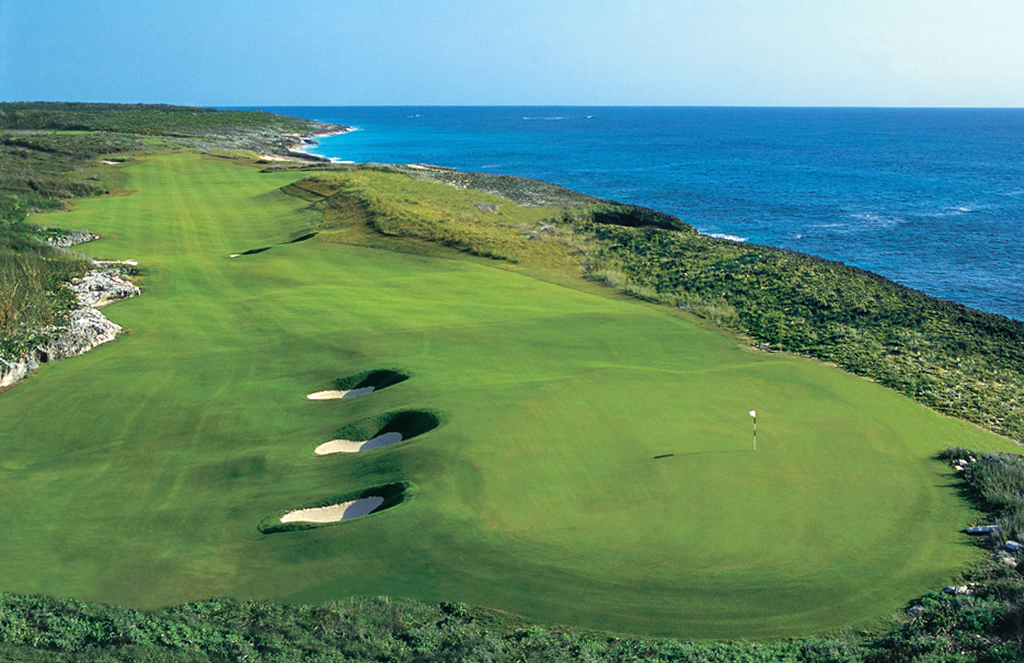 The Abaco Club on Winding Bay Hole #18