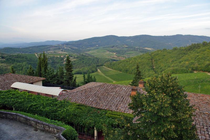 View from Castello di Verrazzano