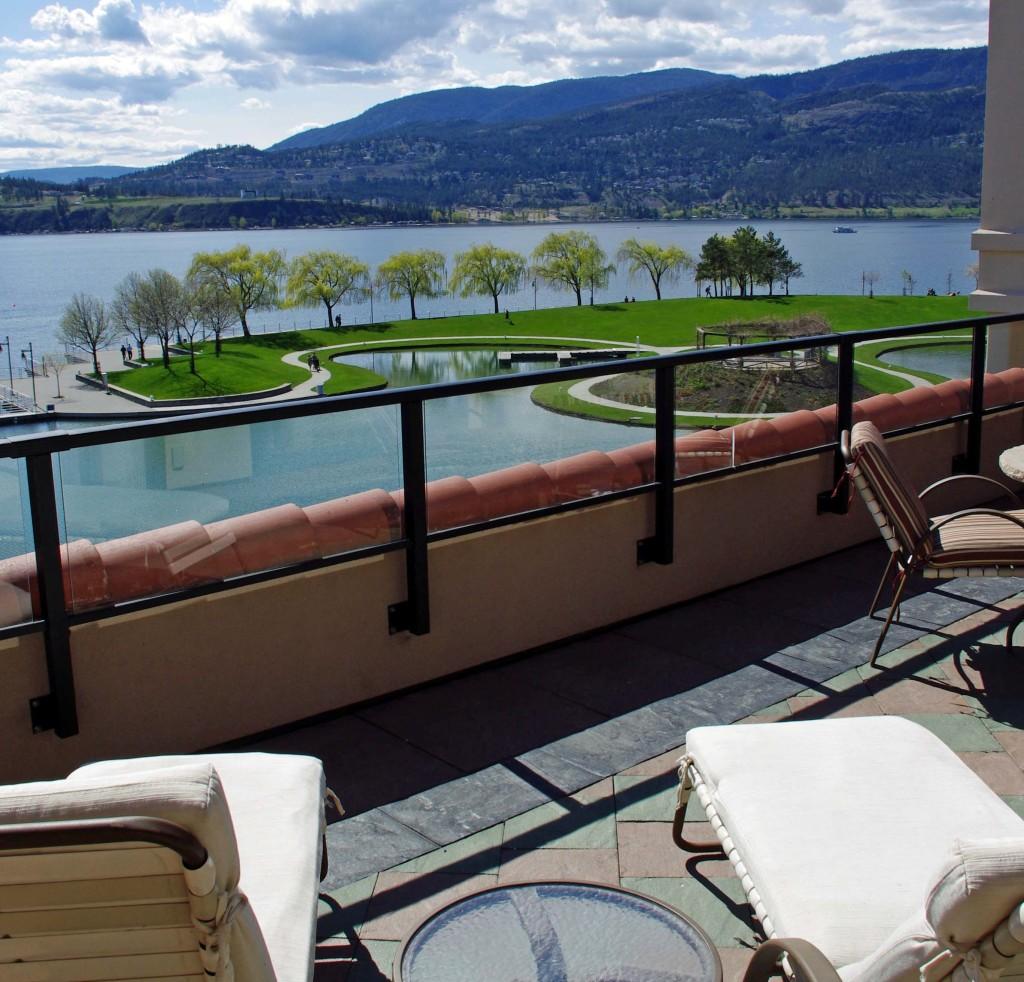 Kelowna - Delta Hotel view of Lake Okanagon