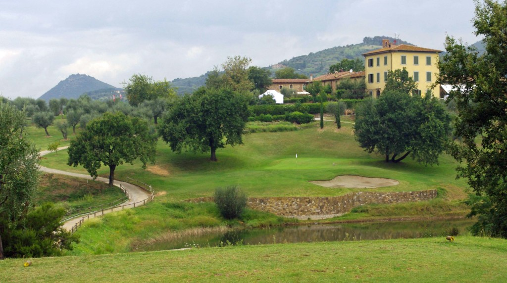 Montecatini Golf Course - Hole #18