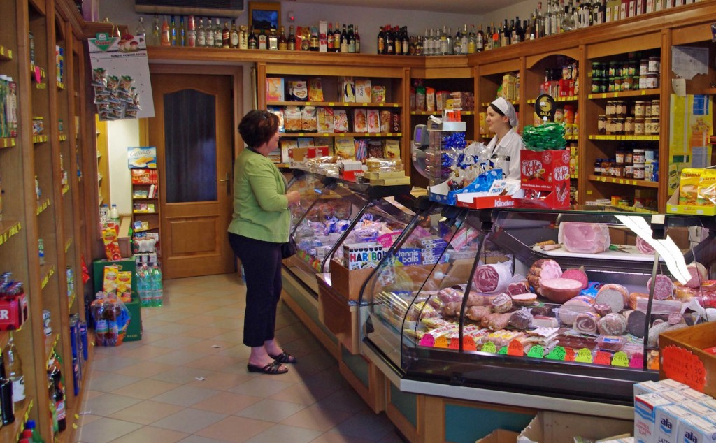 Asiago Cheese Store - Veneto Italy