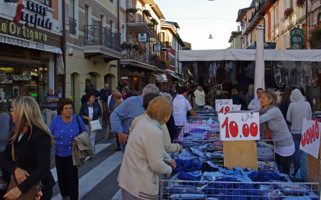 Asiago Market - Veneto Italy