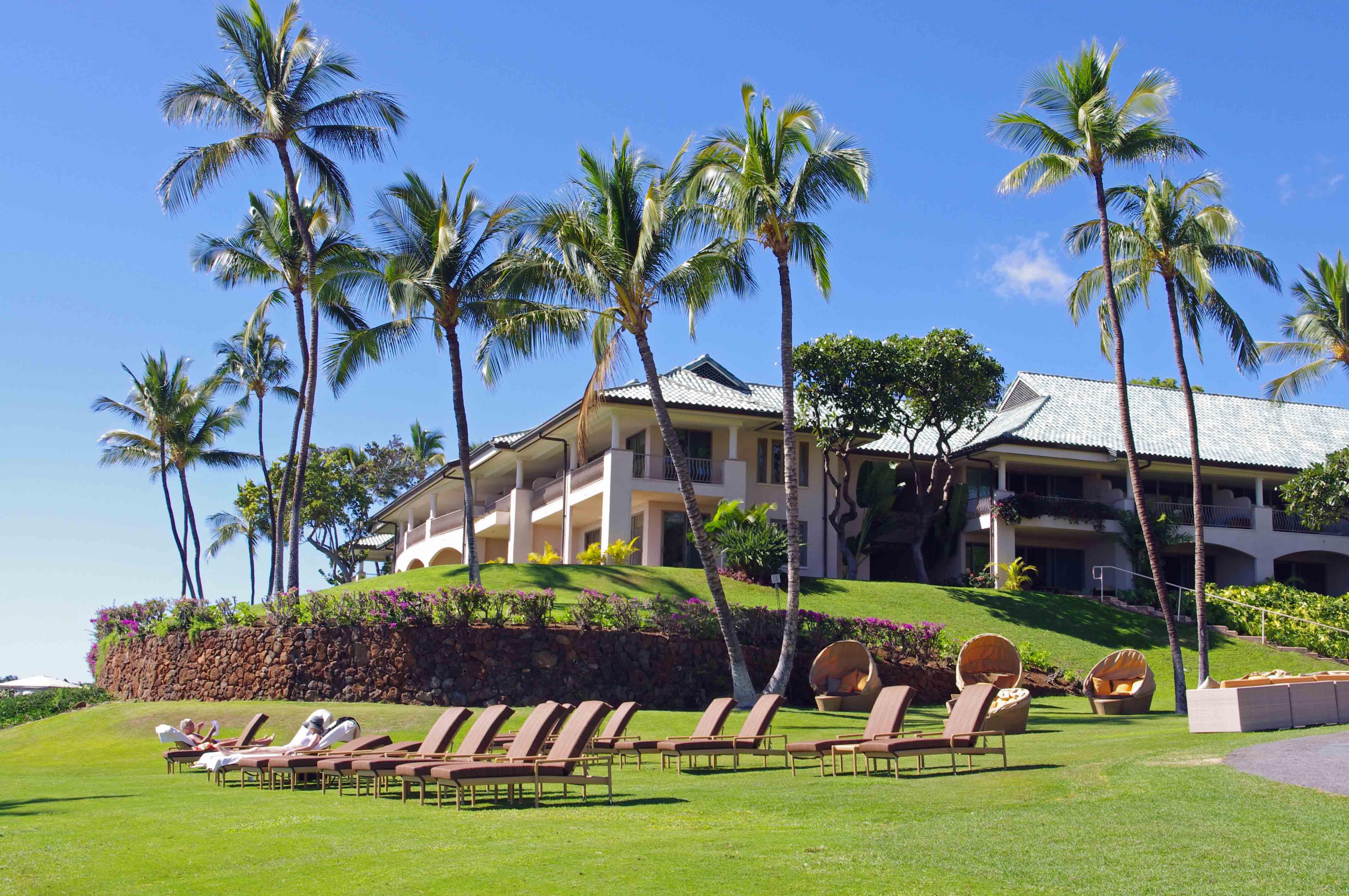 Golf lana 39 i hawaii for Lanai structure