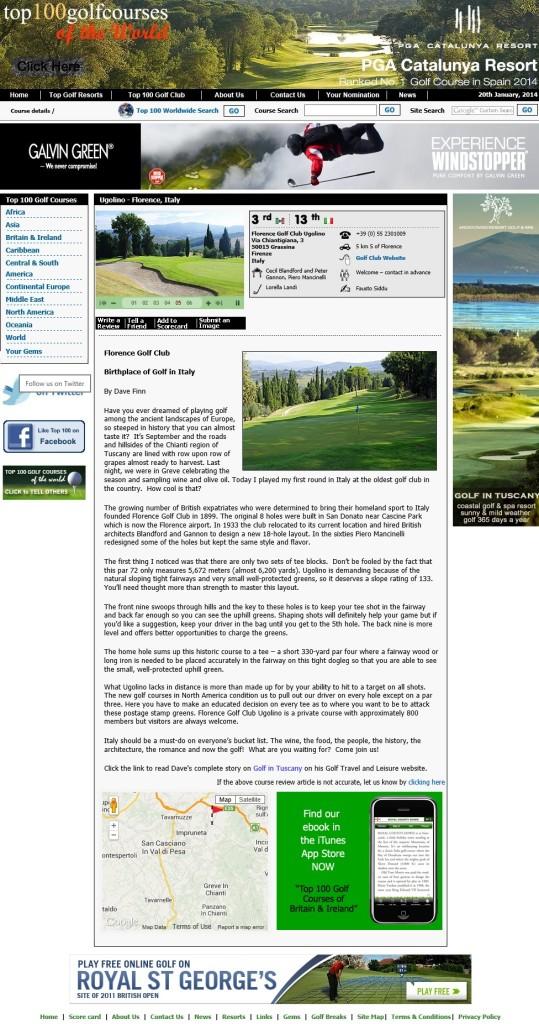 Ugolino Florence Golf Club