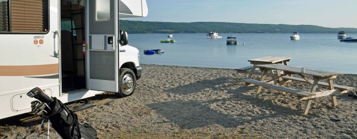 Golf RVing the Cabot Trail in Cape Breton NS