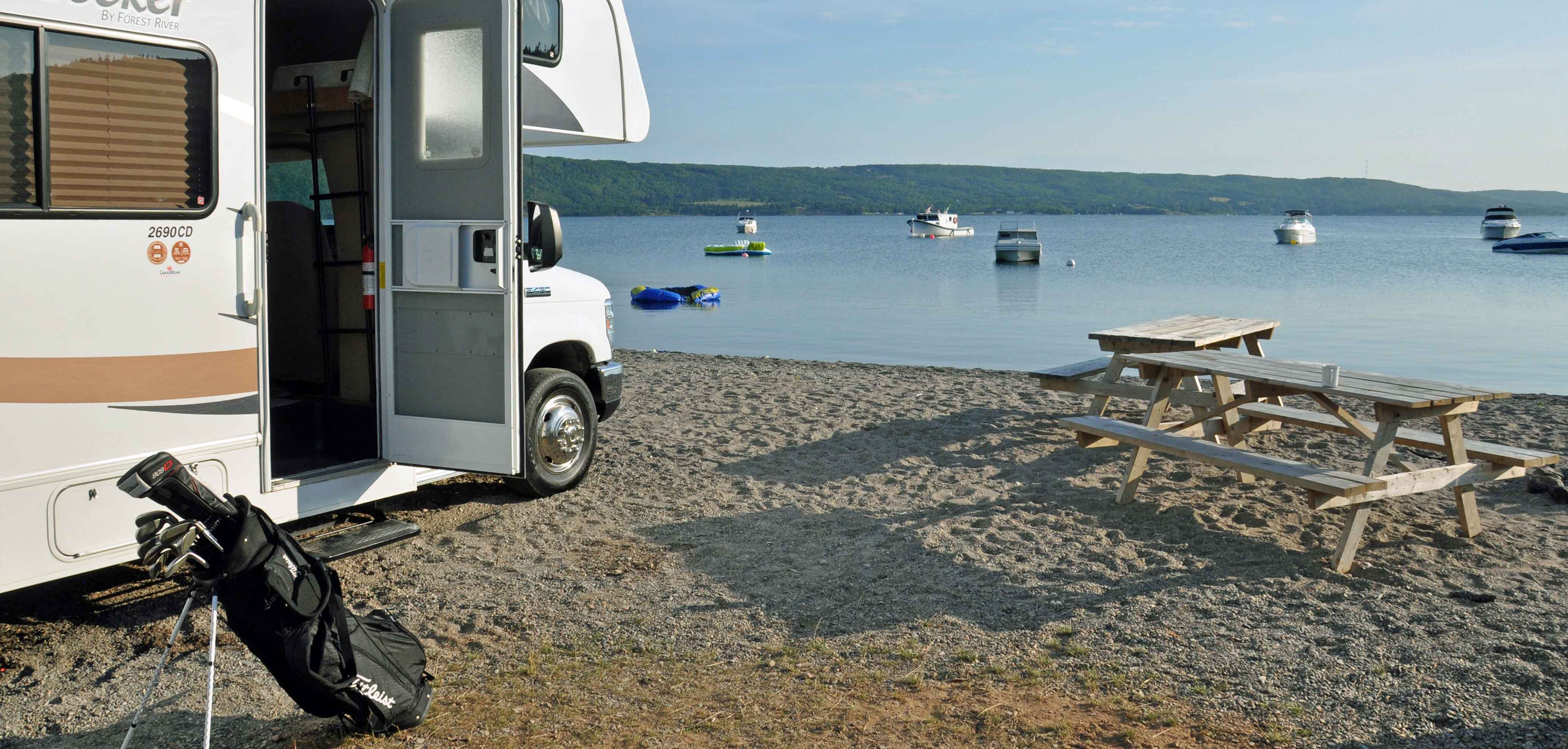 Our RV at Bras d'Or Lake - Main Photo