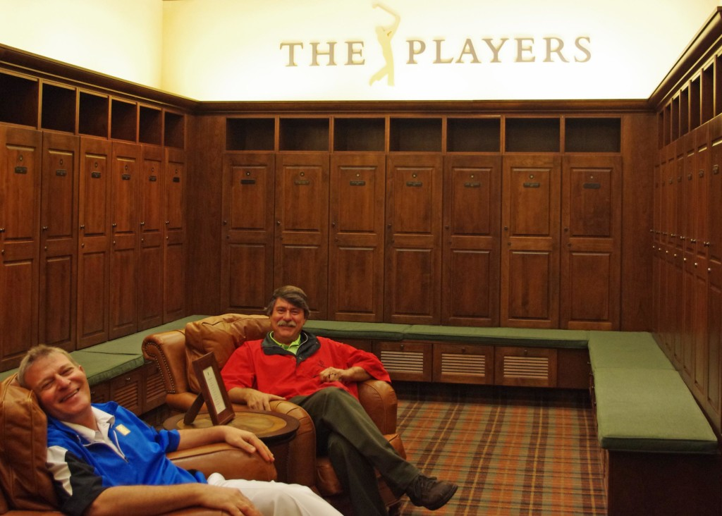 TPC Sawgrass Winners Locker Room