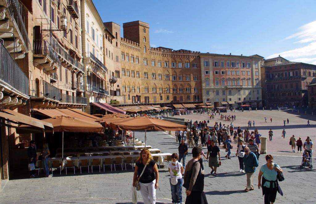 Piazza del Campo in Siena Italy