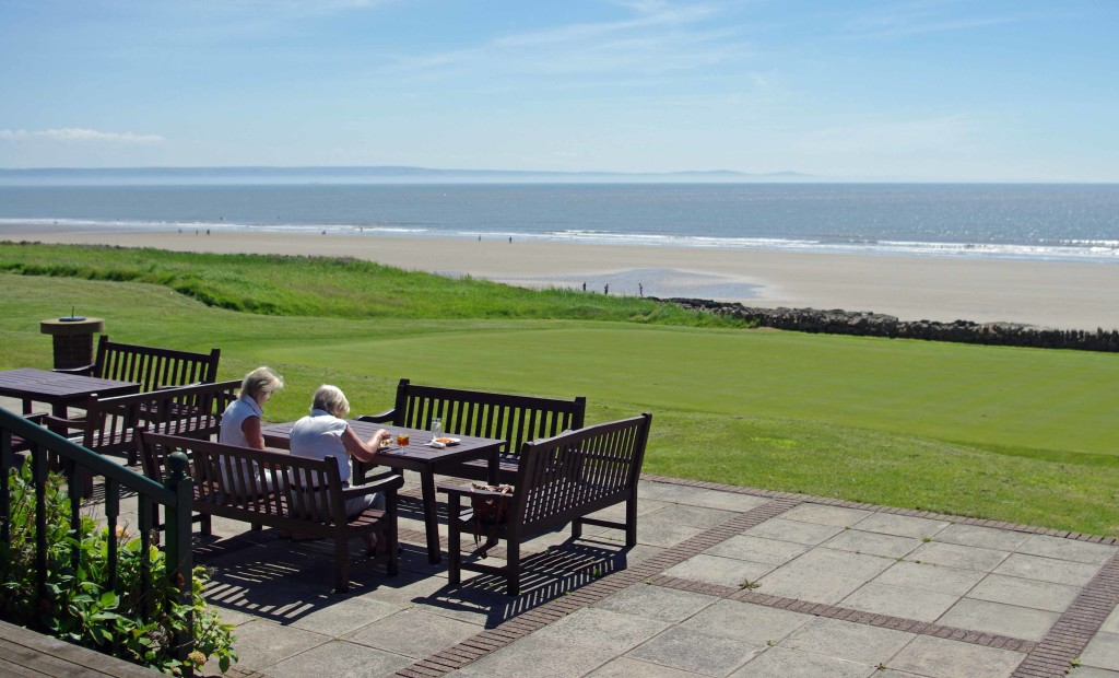 Royal Porthcawl Golf Club View from Clubhouse