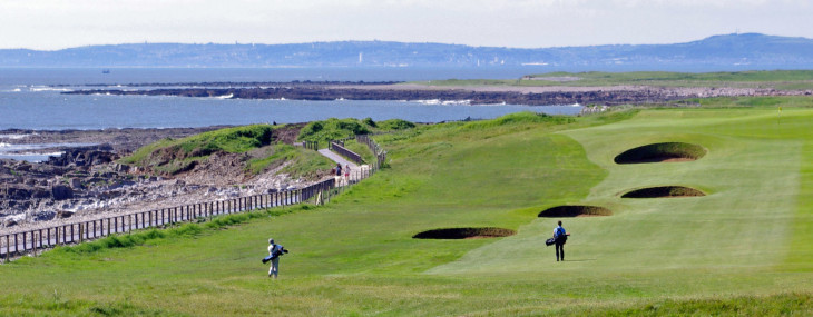 Tee & Sea – Royal Porthcawl Golf Club Wales
