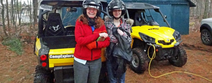 ATV Expedition in Montebello