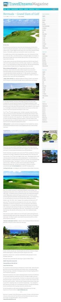 Travel Dreams Magazine