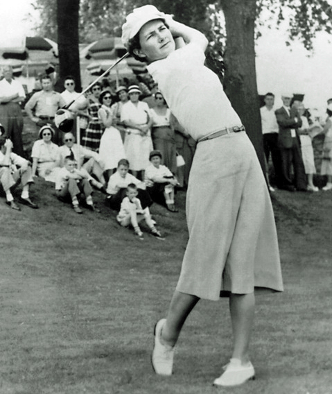 Louise Suggs – World Golf Hall of Fame
