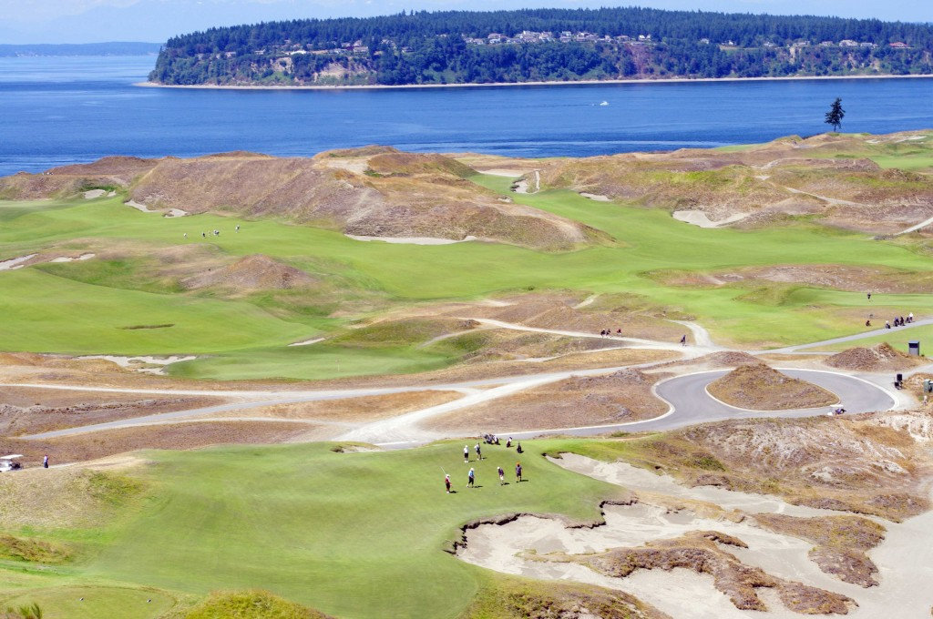 Chambers Bay - 9th hole