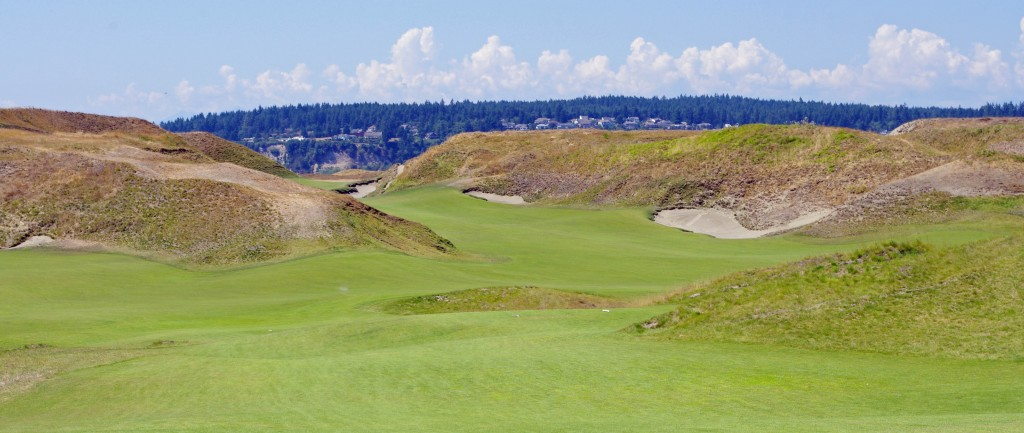 Chambers Bay 9th hole