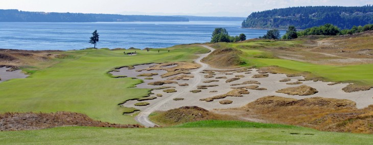 Chambers Bay and Salish Cliffs Washington State