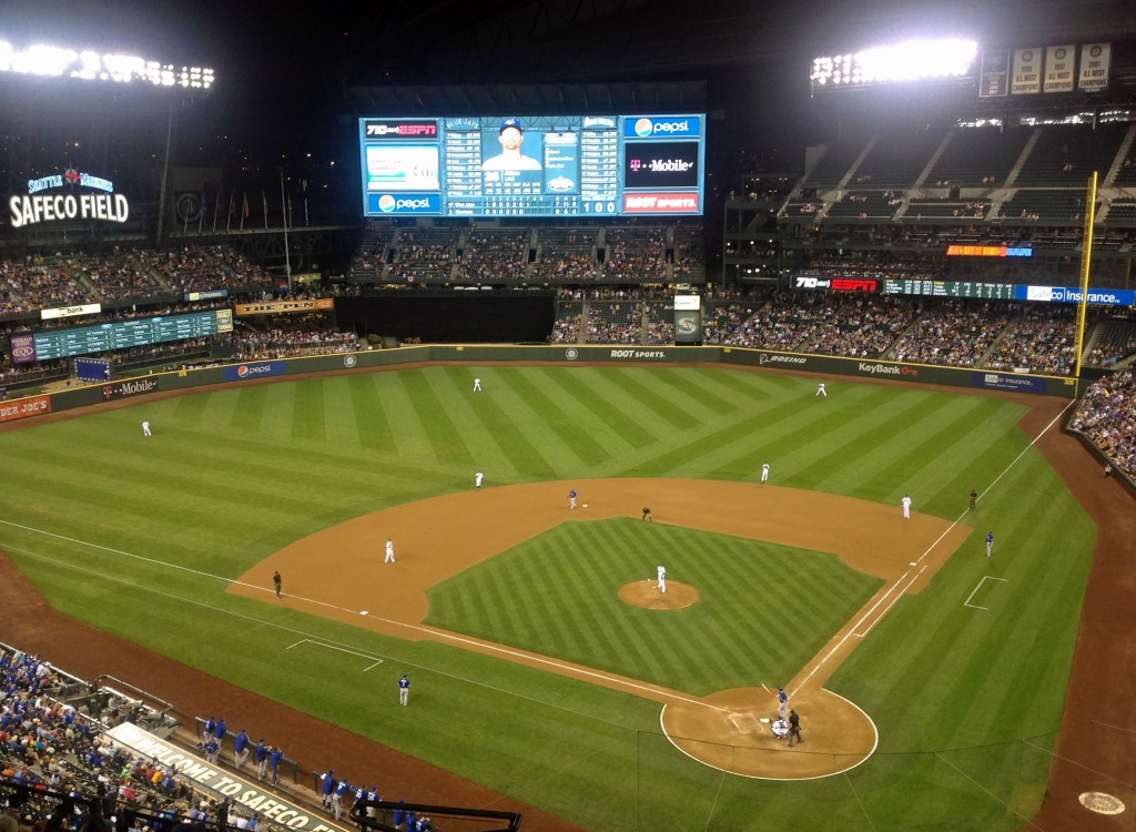 Safeco Field - Blue Jays vs Mariners
