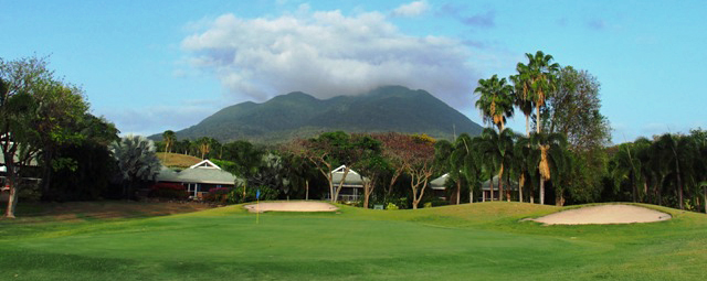 Monkeying Around at Four Seasons Nevis Golf Course