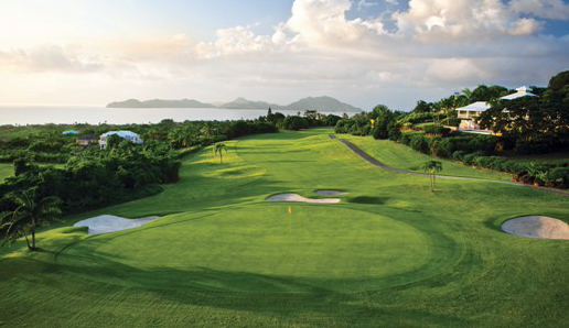 Four Seasons Nevis Golf Course View