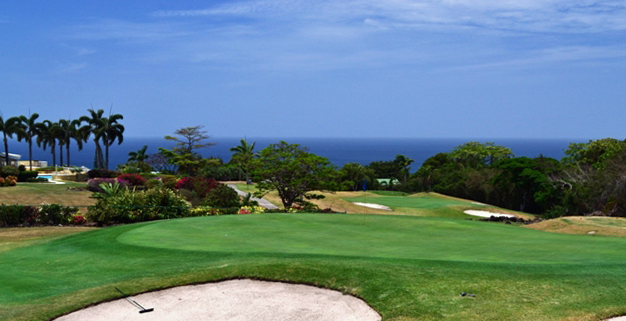 Four Seasons Nevis Golf Course ocean views