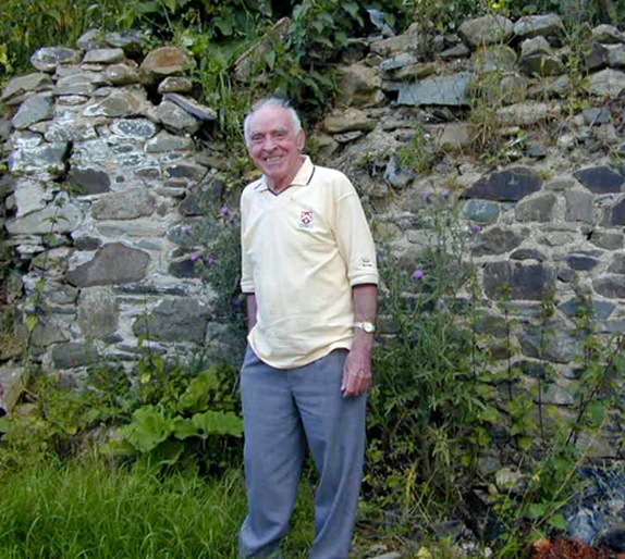 One of my favourite pictures of Dad taken in Creevy in 2001