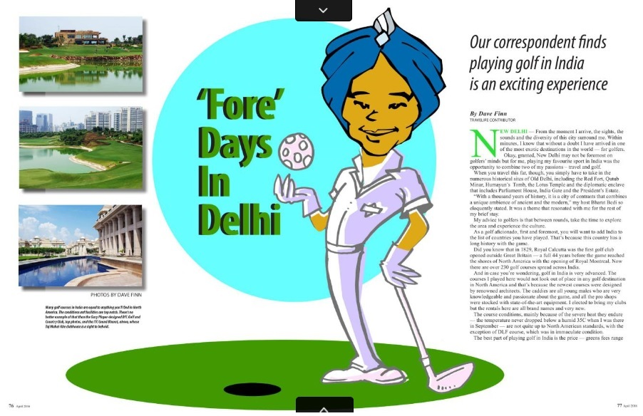 India - Fore Days in Delhi - Travellife (pages 76-77)