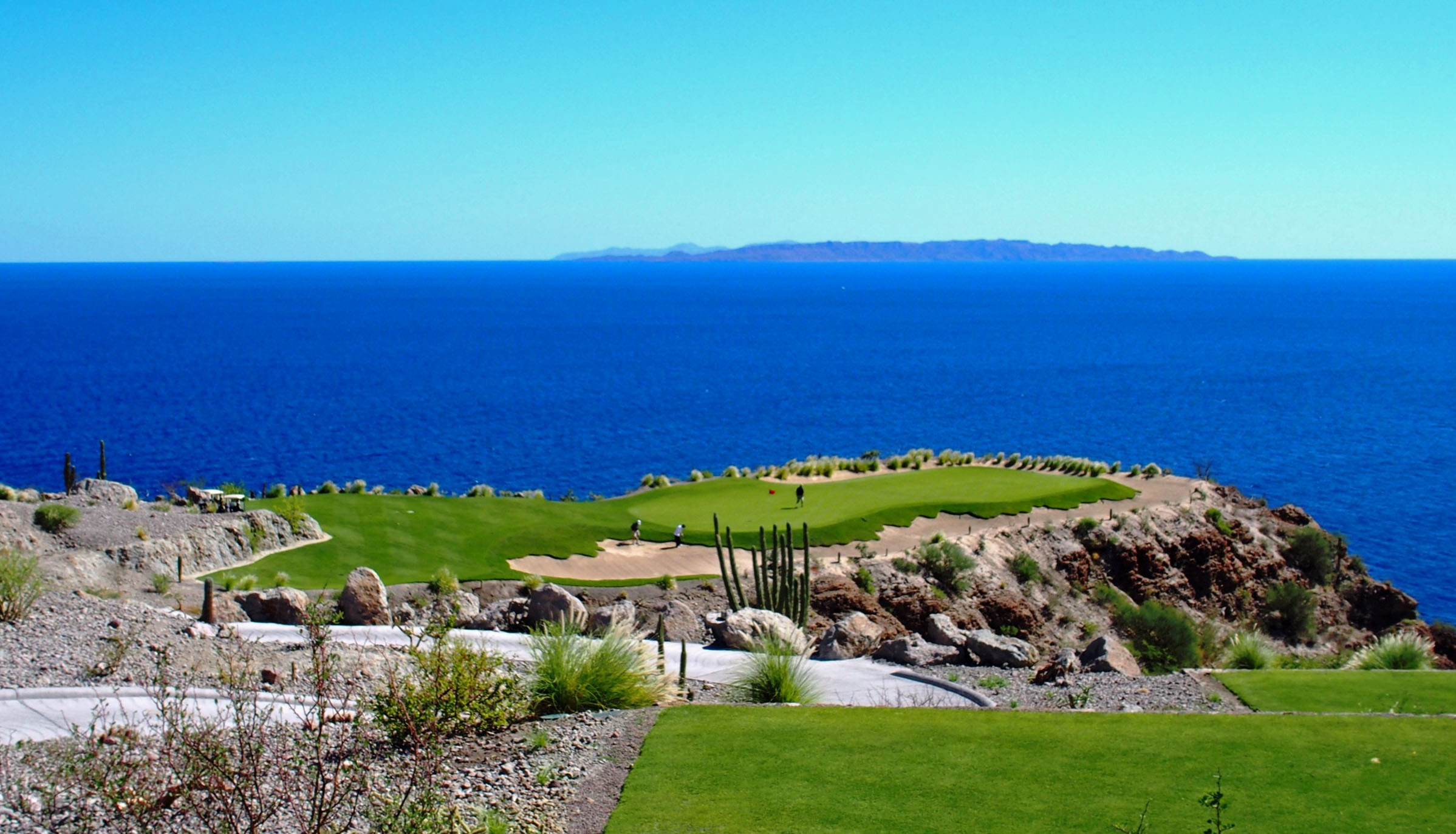Danzante Bay 17th Hole