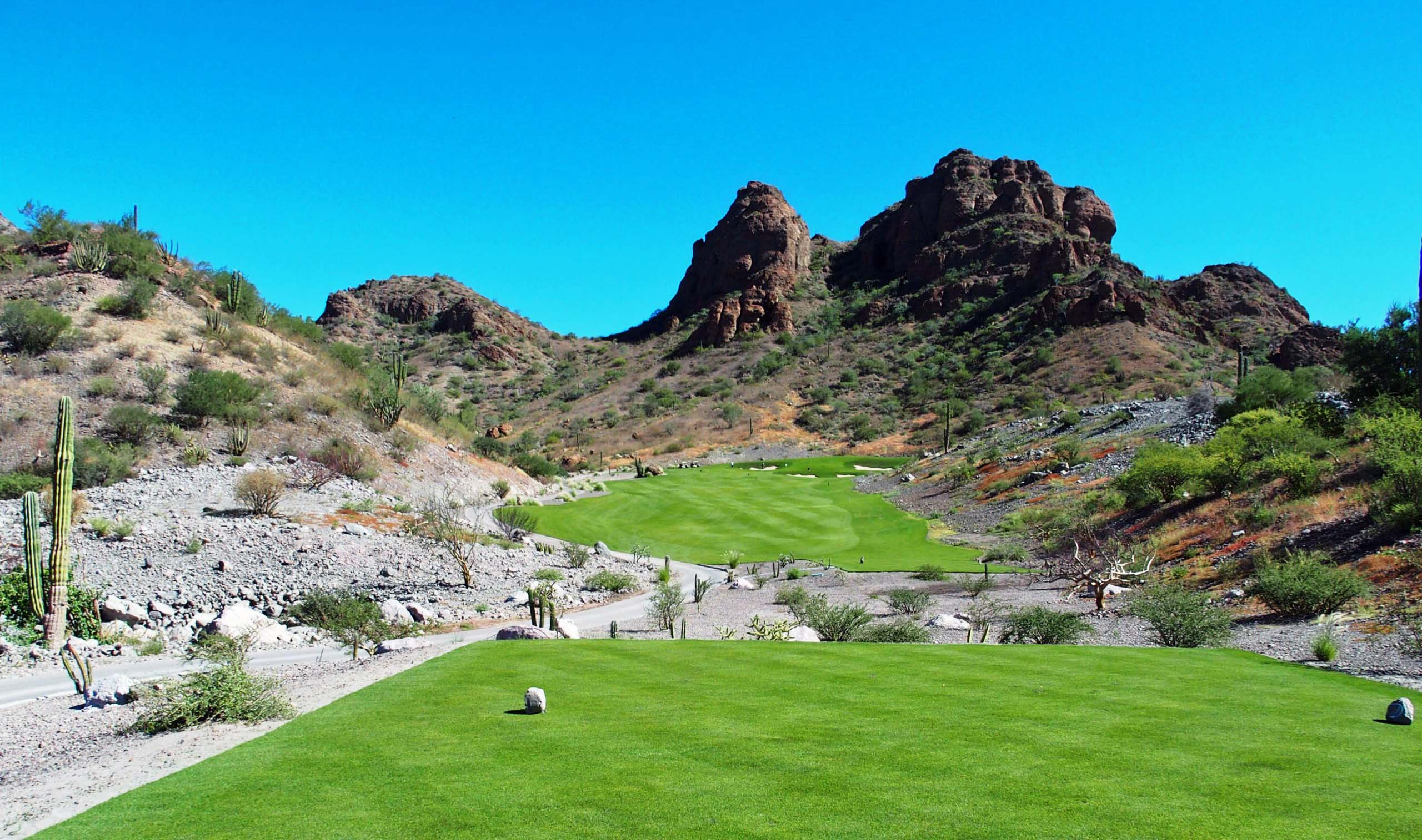 Danzante Bay Golf Club's Sierra de La Giganta Mountain Views