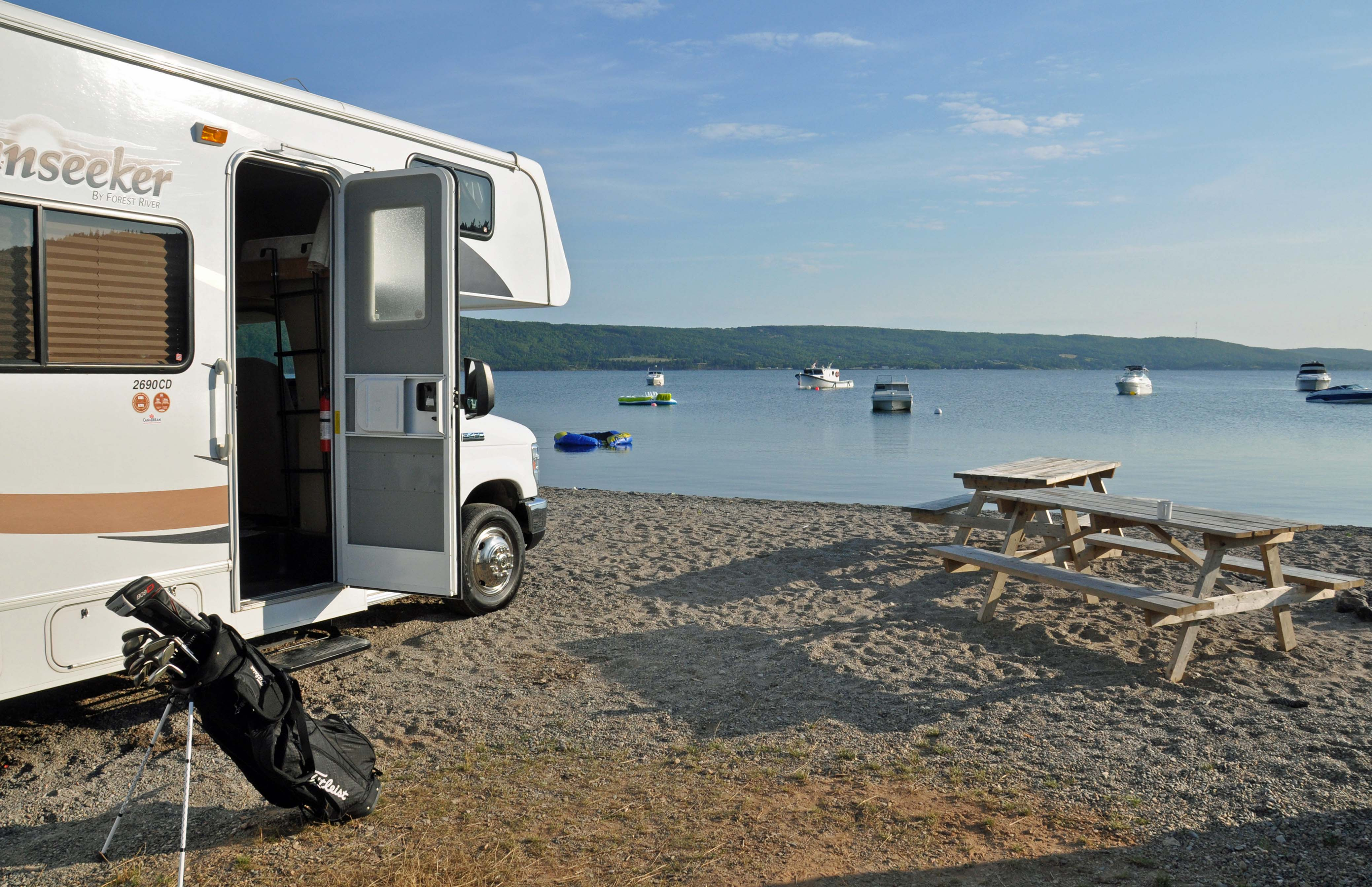 Bras d'Or Lakes at Ben Eion RV Resort & Campground