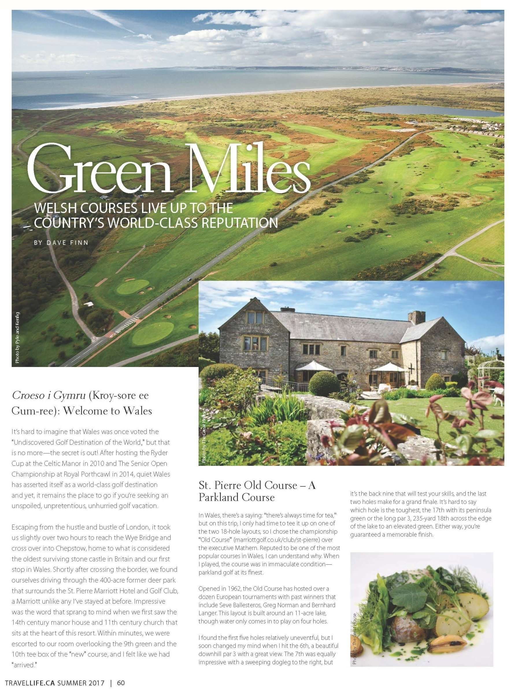 Wales - Travel Life Magazine Summer 2017 - Page 60