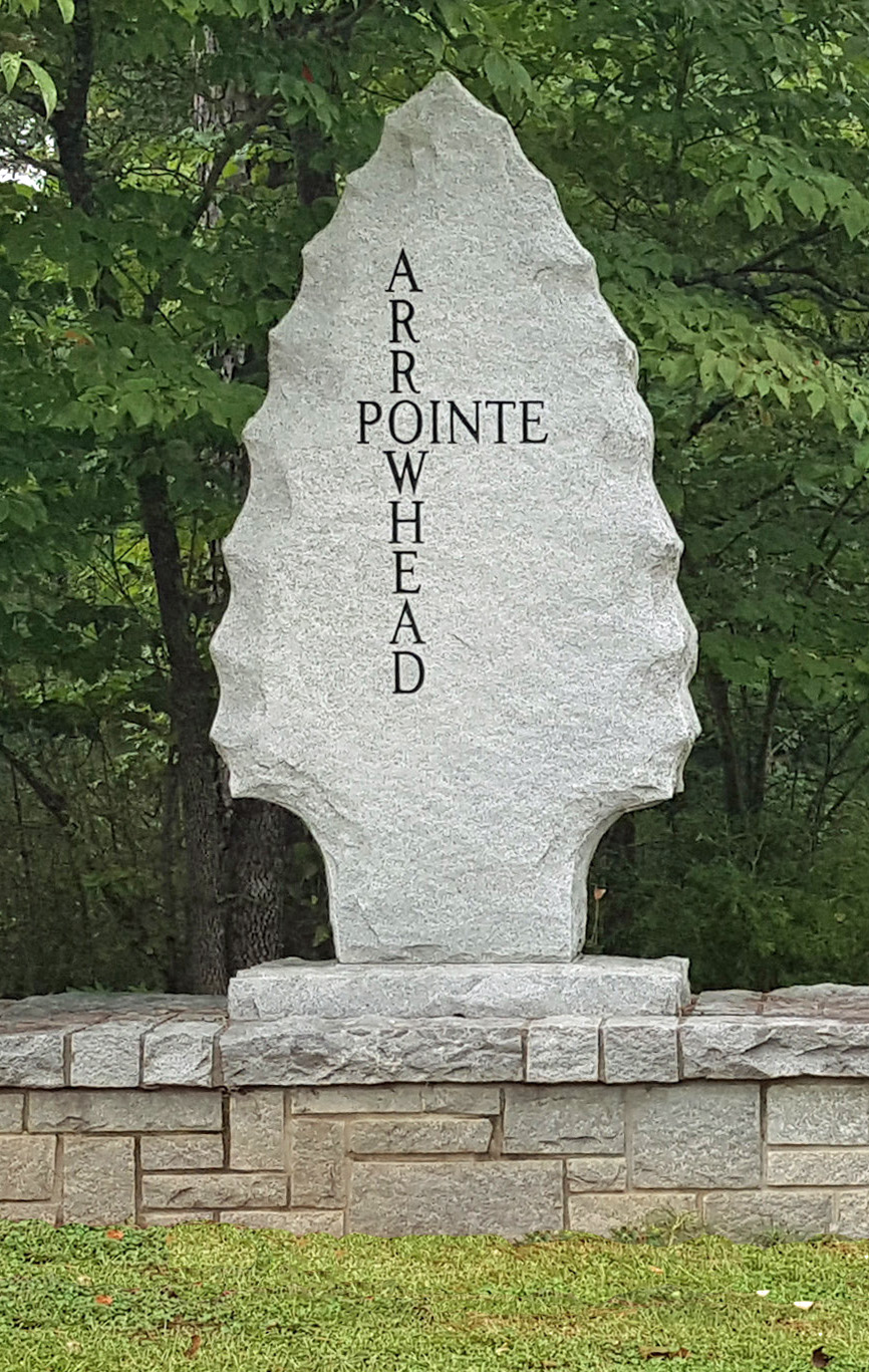 Arrowhead Pointe Golf Club Sign - Georgia