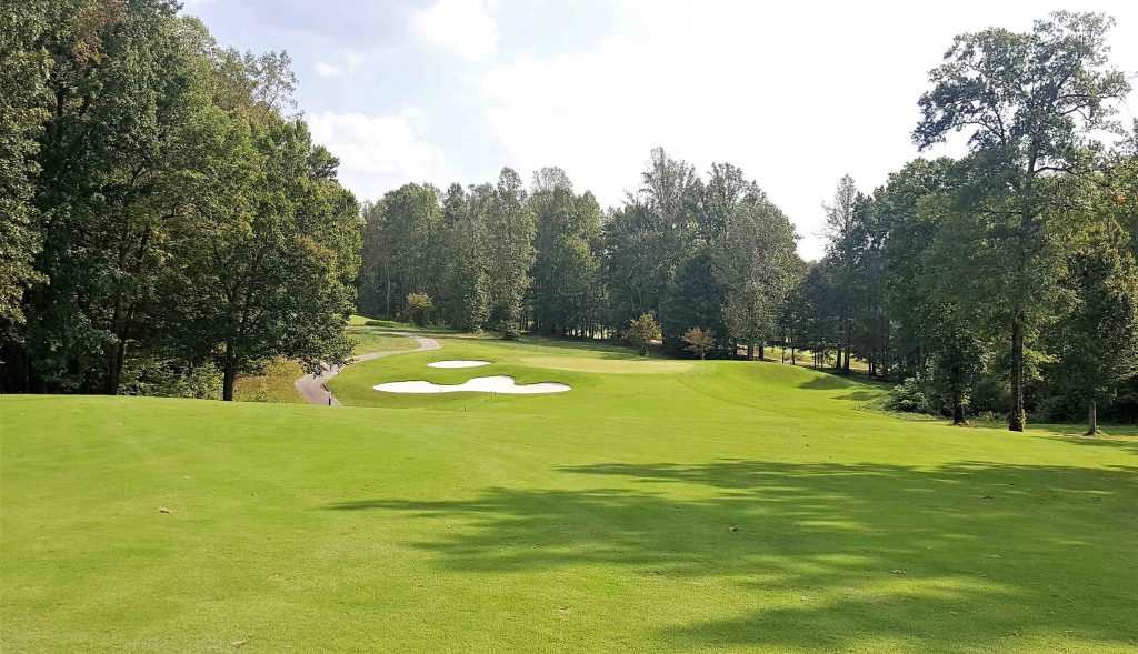 Bryan Park Champions Course 17th hole