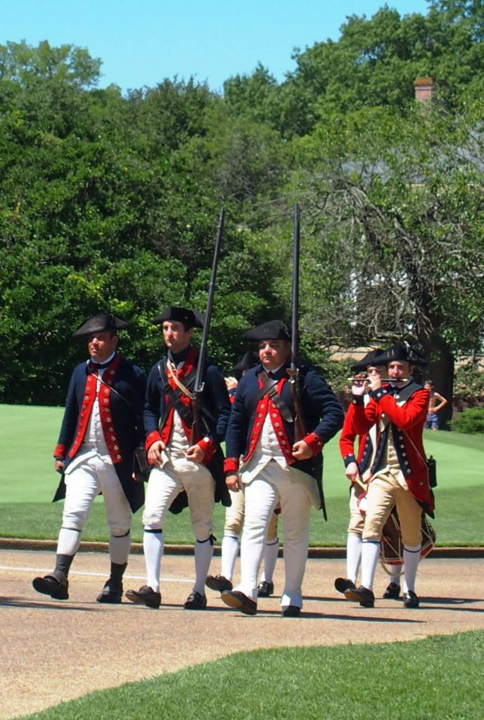 Fife and Drum at the Golden Horseshoe Golf Course