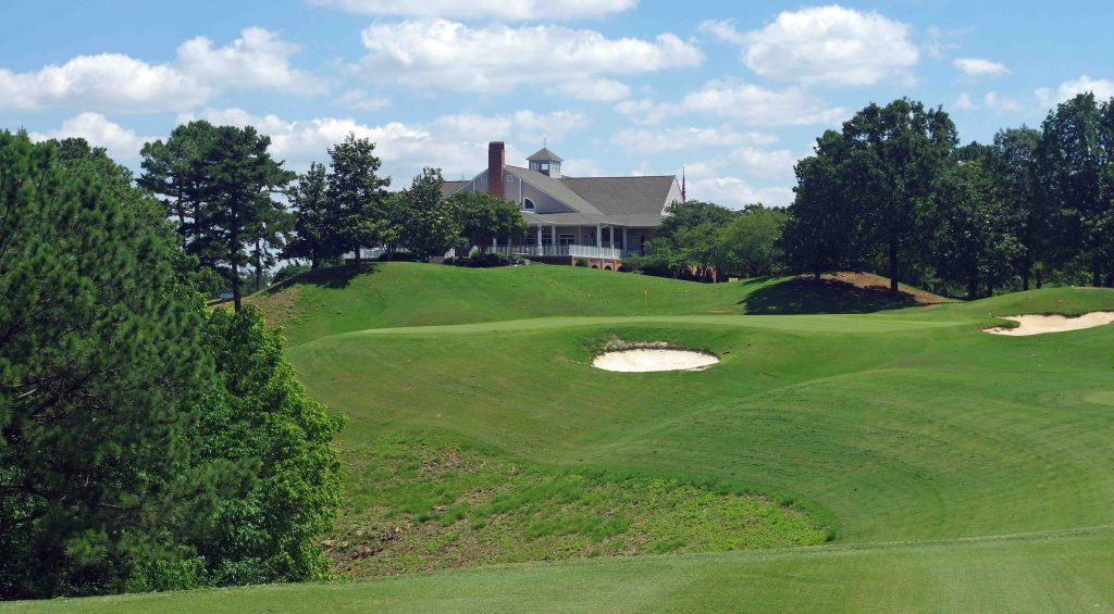 Robert Trent Jones Golf Trail - Oxmoor Valley Ridge Course 18th Hole