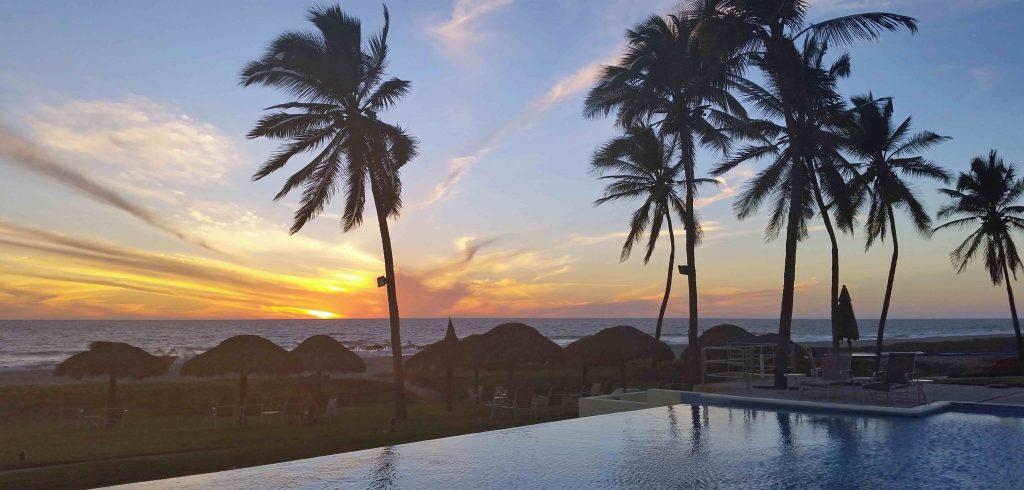 Estrella del Mar sunset in Mazatlán