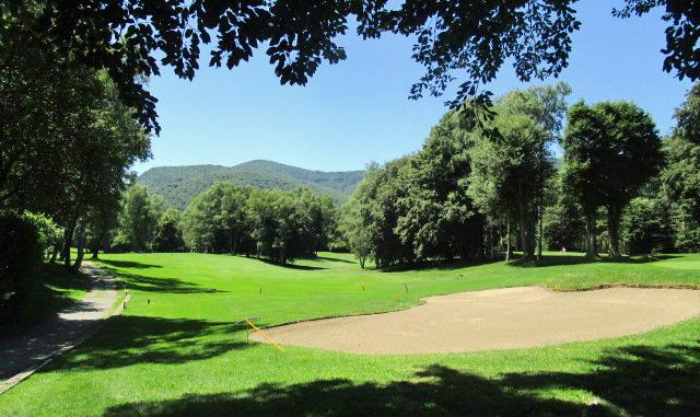 Castagnola and Lanzo Golf Club - 8th hole