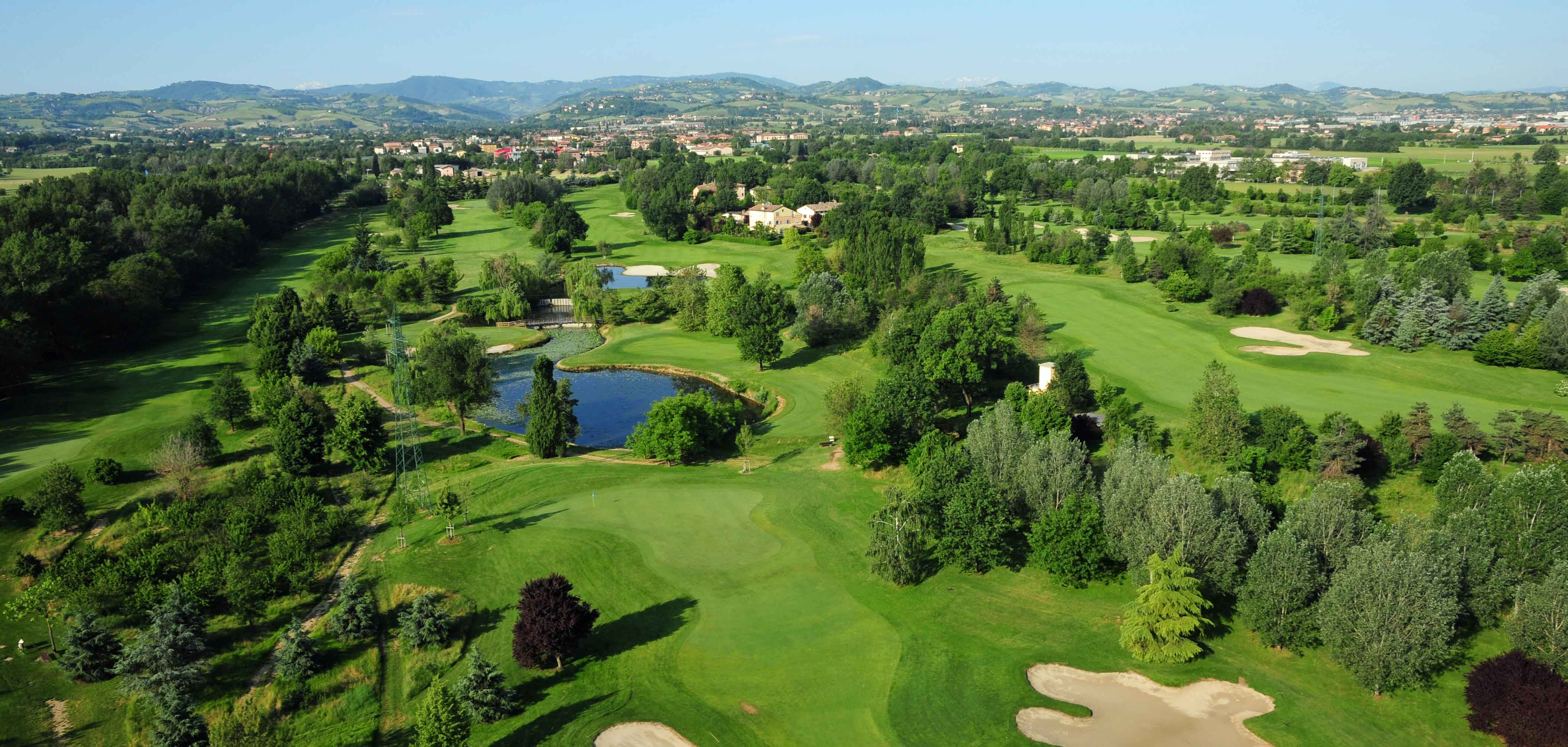 Modeno Golf and Country Club Aerial
