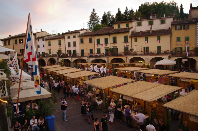 Tuscany Vineyards - Greve Wine Festival