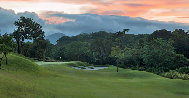 Anvaya Cove Golf and Sports Club - Hole #7 Philippine Golf