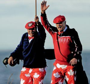 Dunbar Golf Club salute