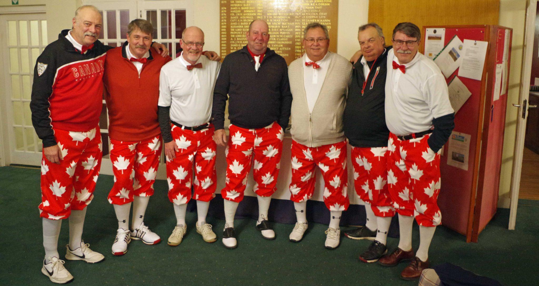 The Crazy Canucks at Dunbar Golf Club