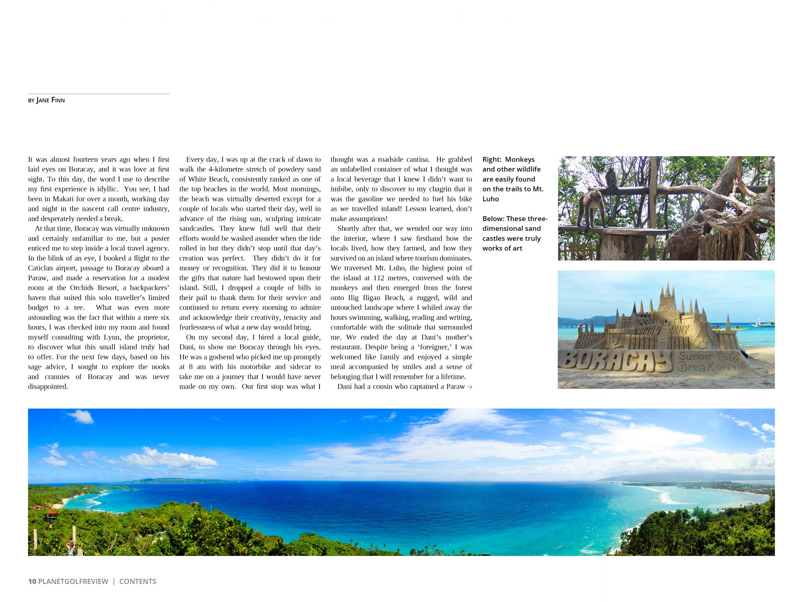 Boracay - Paradise Reclaimed for Planet Golf Review