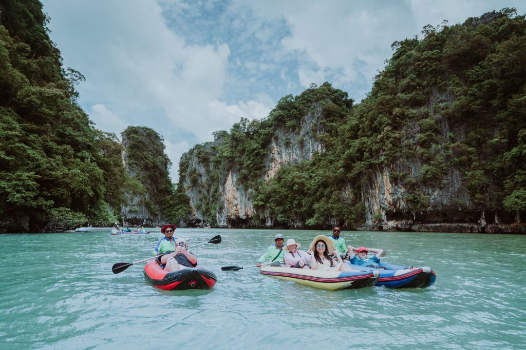 Phi Phi Island Kayaking